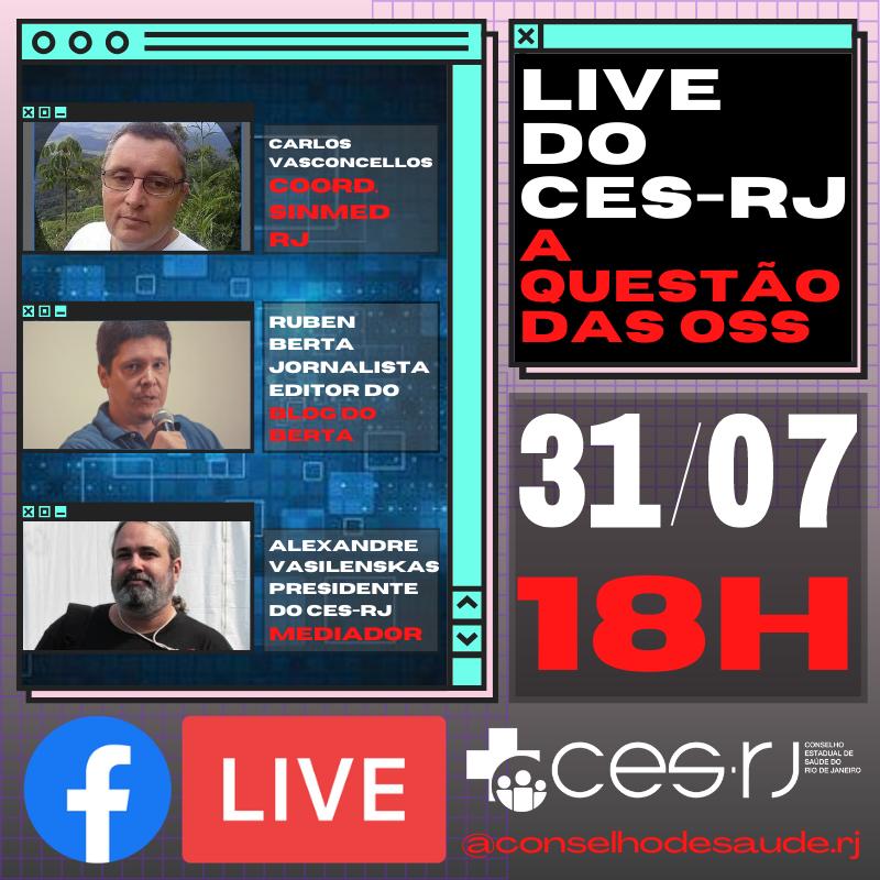 live do ces-rj